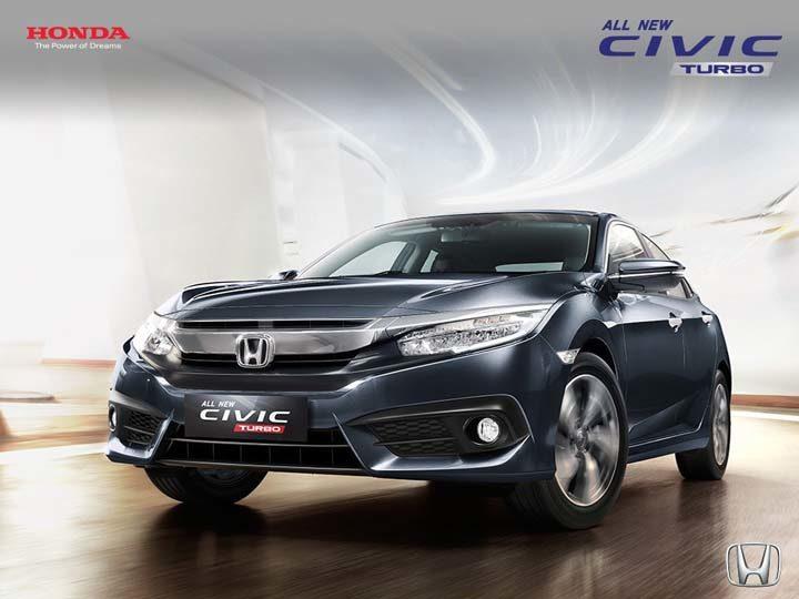 All New Honda Civic Turbo Madiun Magetan, Ngawi, Ponorogo, Pacitan, Caruban, Saradan, Bojonegoro, dan Nganjuk