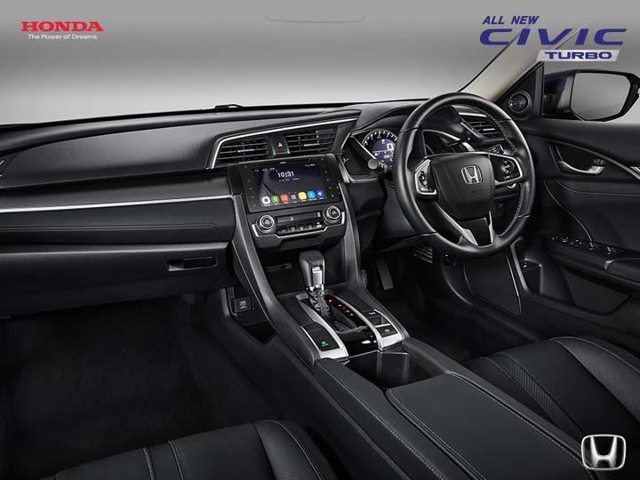 Interior All New Honda Civic Turbo