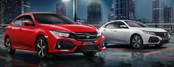 Warna Civic Hatchback